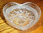 Imperial Cape Cod heart shape dessert bowl, mayo bowl or nappy