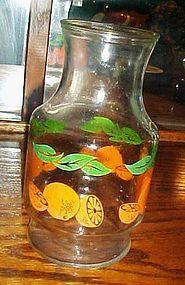 Anchor Hocking Oranges juice carafe
