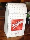 Mrs. Fields advertising cookie jar Bag of cookies