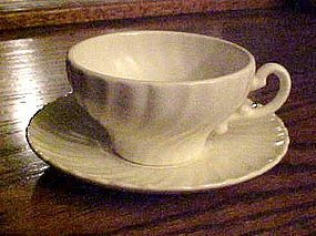 Franciscan Coronado off white cup and saucer