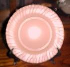 "Vintage Franciscan Ware coral 8 1/4"" salad plate"