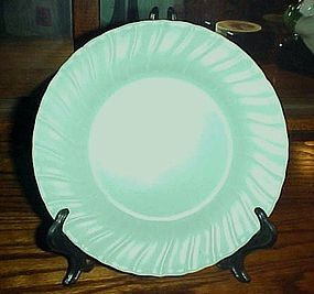 "Vintage Franciscan ware turquoise 8 1/4"" salad plate"