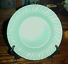 "Vintage Franciscan ware turquoise 8 1/4"" salad plate"