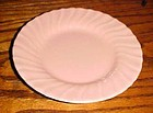 Vintage Franciscan Ware coral bread and butter plate 6 1/4""