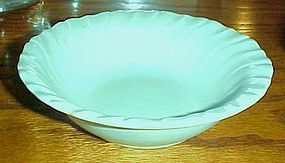 Vintage Franciscan Ware turquoise cereal bowl 6 1/4""