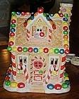 M&M lighted Christmas cottage by Kurt Adler