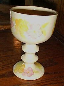 Franciscan garden Party ceramic goblet