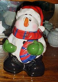 That's Kooky snowman cookie jar