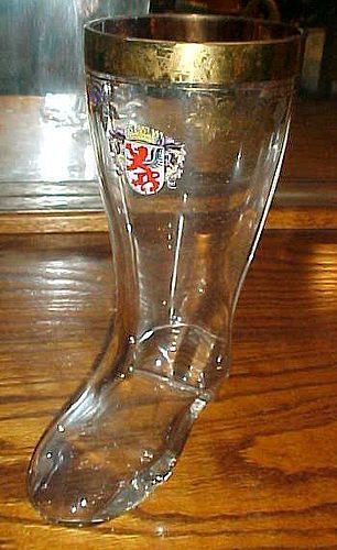 Bieken Logo Glass shape boot glass 1 litre