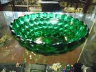 Fire King Forest green  Bubble cereal bowl 5 1/4""