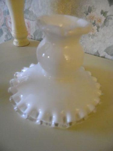 Fenton Silvercrest candle holder