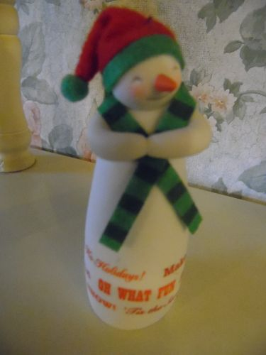 Hallmark 2014 Merry Wishes Snowman Limited Ornament -