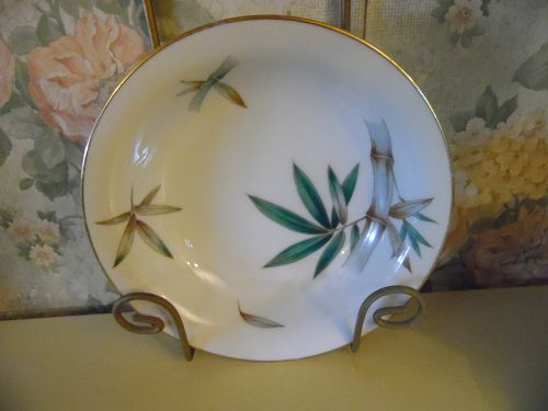 Noritake Canton  #5027 Bamboo 7.5 coupe cereal bowl