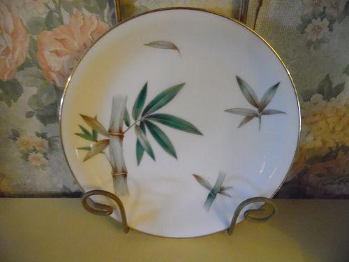 Noritake Canton #5027 Bamboo 7 7/8 salad plate
