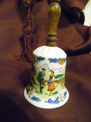 S P M Walkure W Germany  porcelain Bell Country folk scene