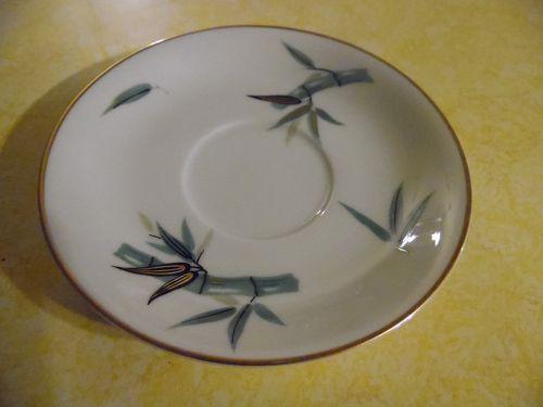 Noritake Japan pattern #5490 bamboo saucer