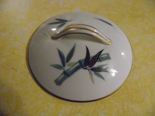 Noritake pattern #5490 bamboo lid for sugar bowl