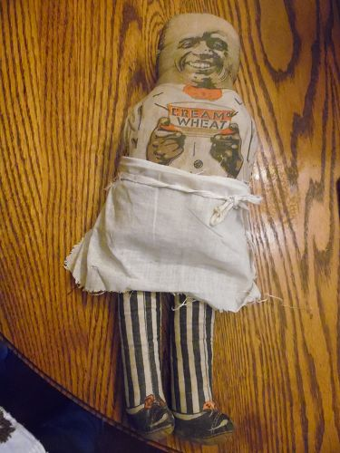 1940's Cream of Wheat rag doll advertising premium