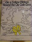 Tie a yellow ribbon round the ole oak tree sheet music 1972