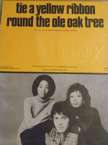 Tie a yellow ribbon round the ole oak tree Tony Orlando and Dawn cover