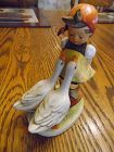 Goebel Hummel Goose girl figurine W Germany # 47/0
