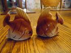 Vintage angelfish salt and pepper shakers