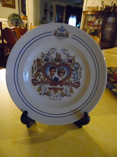 Prince Charles & Lady Diana  Commemorates Their Marriage Staffordshire