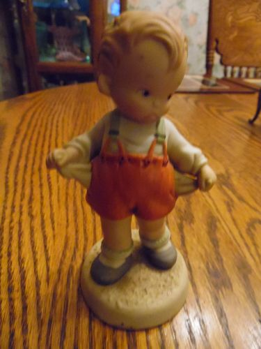 Enesco 1988 Lucie Attwell figurine #115029 I's the thought that counts