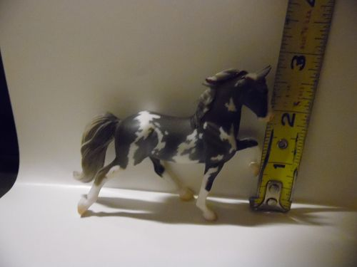 Breyer Reeves  Stablemates Tennessee Walker Grey and white Sabino