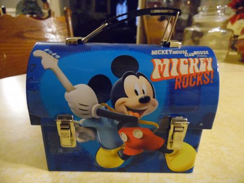 Mickey Mouse Rocks Disney mini lunch box