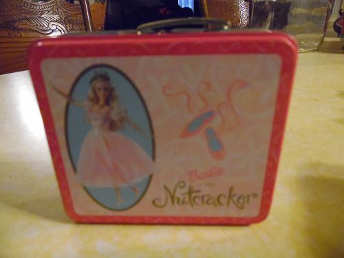Barbie Nutcracker Mini metal lunchbox candy tin