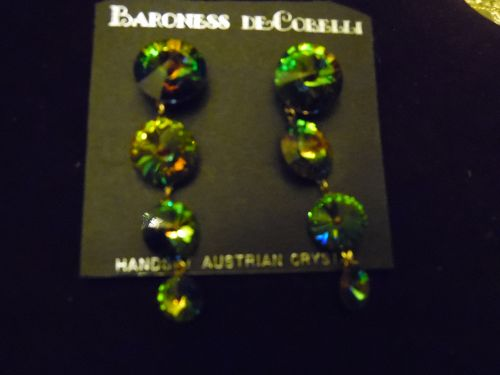 BARONESS-DE-COBELLI-FINE-CRYSTAL-POST BACK-EARRINGS