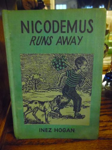 Nicodemus runs away by Inez Hogan First edition Black Americana