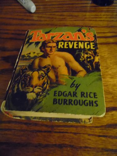 Tarzan's revenge Big Little book