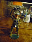 Rare Manoil toy lead soldier with camera