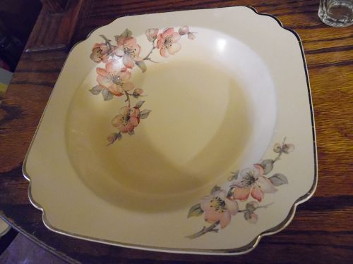 Wells China Homer Laughlin pattern C-84 Century rimmed soup bowl