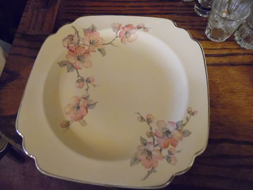 Wells China Homer Laughlin pattern C-84 Century shape dinner plate