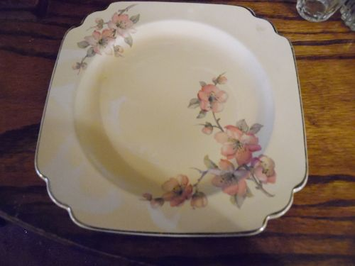 Wells  Homer Laughlin pattern C-84 century shape 7 3/4 salad plate