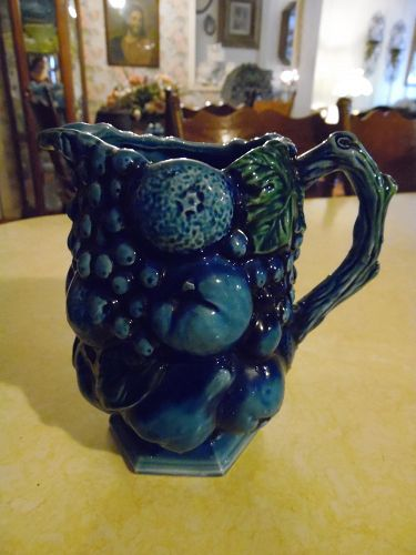 Inarco Mood Indigo 6.5  blue fruit pitcher