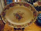 J&G Meakin Sunshine Pilgrim floral oval platter R 56107