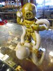 Vintage aquarium fish tank figurine diver and octopus