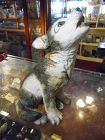 Lenox Grey wolf pup porcelain figurine Smithsonian Collection 1992