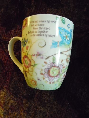 Lori Seibert Friendship Garden Sisters mug Christian Inspirations