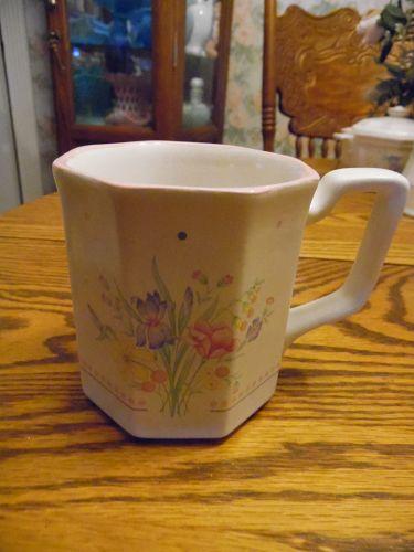 Sarma Victorian Flowers mug 1980s