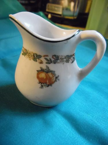 Rare Southern Pacific Imperial pattern creamer Buffalo china