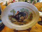 Homer Laughlin 14 inch platter with Turkey center