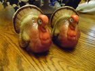 Otagiri ceramic Thanksgiving  turkey salt and pepper shakers