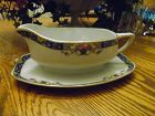 Edelstein Bavaria pattern 1355 gravy boat with underplate