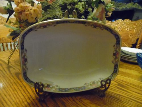 Edelstein Bavaria pattern 1355  rectangular vegetable serving bowl