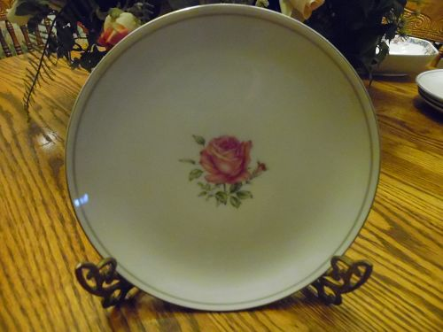 "Imperial Rose fine china of Japan 7 7/8"" salad plate"